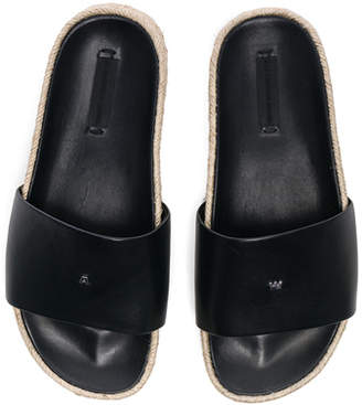Alexander Wang Leather Suki Slides