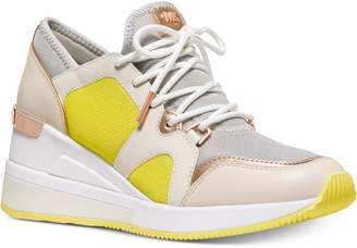 Michael Kors Liv Bubble Trainer Sneakers