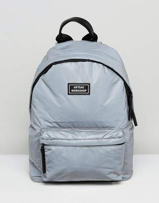 Artsac Workshop Reflective Backpack