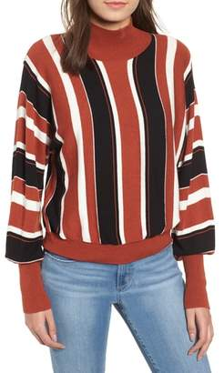 Leith Stripe Dolman Sleeve Sweater