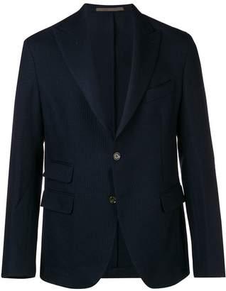 Eleventy striped tailored blazer