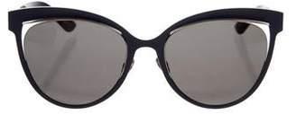 Christian Dior Inspired Cat-Eye Sunglasses