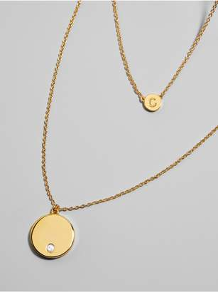 BaubleBar Alpha Layered Necklace