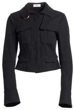 A.L.C. (エーエルシー) - A.L.C. A.L.C. Women's Lorimer Cargo Jacket - Vintage Black - Size 00