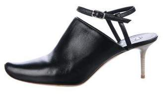 Acne Studios Pointed-Toe Ankle Strap Pumps Black Pointed-Toe Ankle Strap Pumps