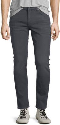 7 For All Mankind Men's Paxtyn Skinny-Leg Jeans, Gray