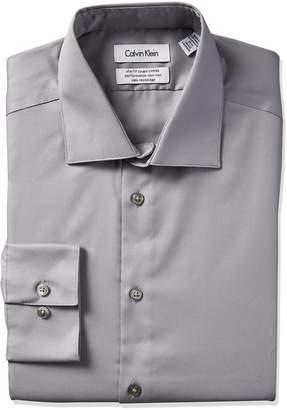 Calvin Klein Steel Men's Slim Fit Dress shirt