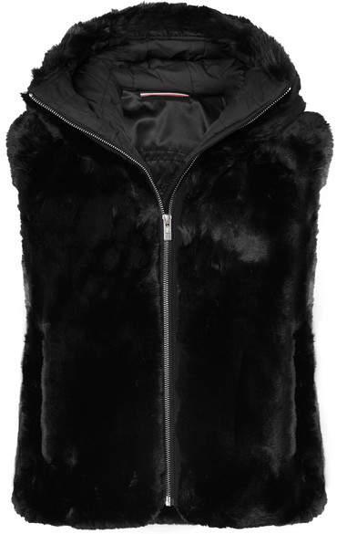 Fusalp - Peggy Hooded Faux Fur Gilet - Black