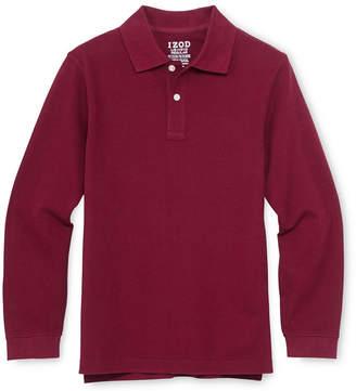 Izod EXCLUSIVE Long-Sleeve Polo Shirt - Boys 4-20 and Husky