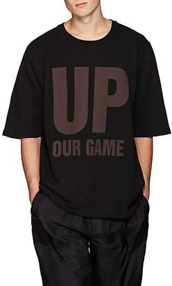 "Katharine Hamnett Men's ""Up Our Game"" Organic Cotton T-Shirt"