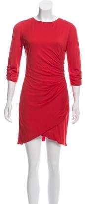 Azzaro Draped Mini Dress