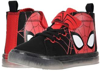 Favorite Characters SPF725 Spider-Mantm Canvas Hi Top Boy's Shoes
