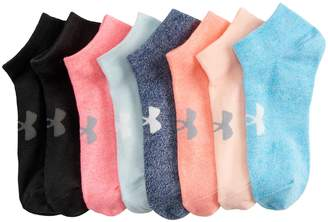 Under Armour Women's 8-pack Training No Show Socks
