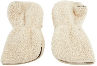 Chanel Ecru Wool Gloves