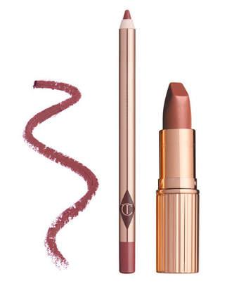 Charlotte Tilbury Luscious Lip Slick - Very Victoria - Lipstick & Lip Liner