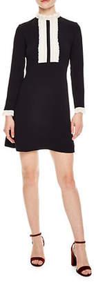 Sandro Notting Hill Dandy Bib Flare Dress