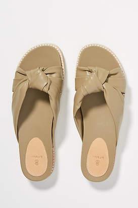 Bill Blass Padget Leather Sandal Slides