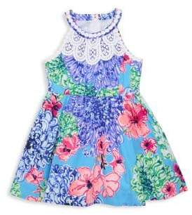 Lilly Pulitzer Little Girl's& Girl's Floral Kinley Dress
