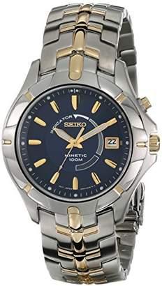 Seiko Men's SKA402 Kinetic Two-Tone Watch