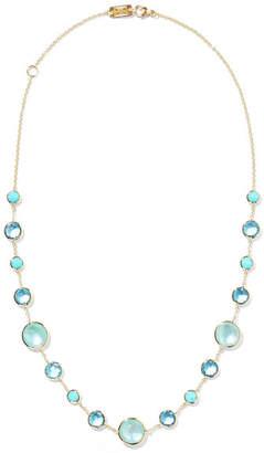 Ippolita Lollipop Lollitini 18-karat Gold, Topaz And Amazonite Necklace
