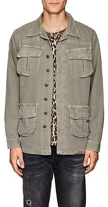 NSF Men's Cotton Canvas Shirt Jacket