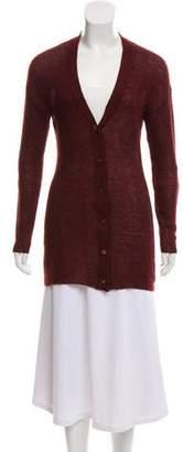 Prada Knit V-Neck Cardigan