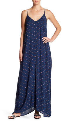 Love Stitch Sleeveless V-Neck Maxi Dress $88 thestylecure.com