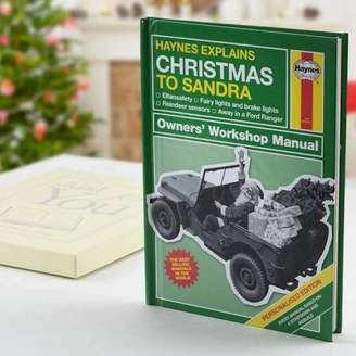 Haynes The Letteroom Personalised Explains Christmas