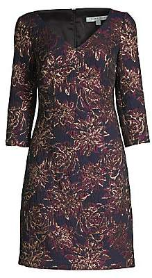 Trina Turk Women's Wine Country Roussanne Floral Sheath Dress - Size 0