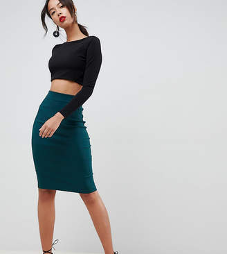 Asos DESIGN Tall high waisted pencil skirt