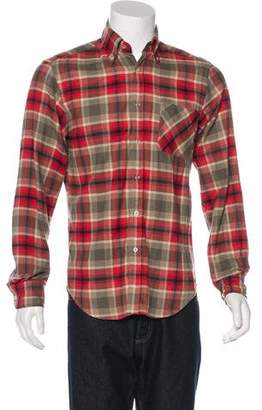 Adam Kimmel Plaid Flannel Shirt