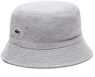 Lacoste Men's Cotton pique bucket hat
