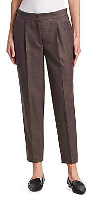 Akris Punto Women's Maiko Wool Ankle Trousers