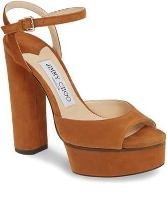 Jimmy Choo Peachy Platform Sandal