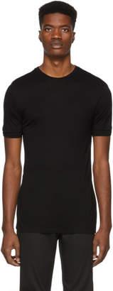 Neil Barrett Black Double Cuff T-Shirt