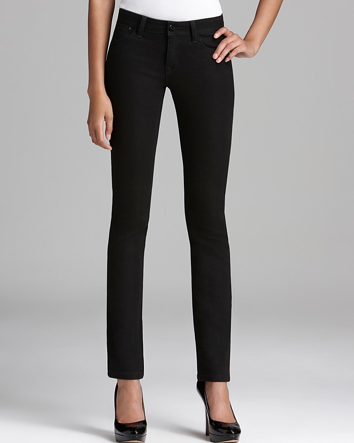 DL1961 Jeans - Coco Curvy Straight in Onyx