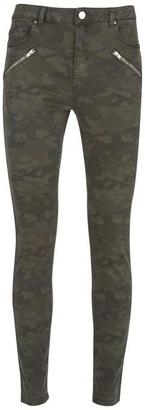 Mint Velvet Westwood Khaki Camo Jeans