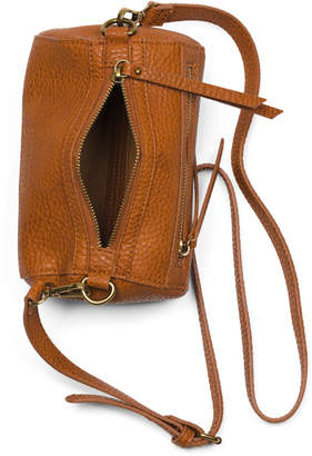 Leather Lined Mini Round Duffel