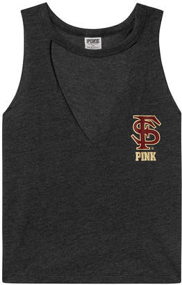 PINK Florida State University Choker Neck Muscle Tank