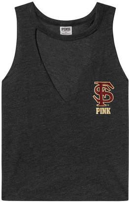 PINK Florida State University Choker Neck Muscle Tank