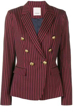 Pinko double breasted pinstripe blazer