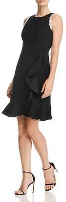 Nanette Lepore nanette Ruffled Crepe Dress