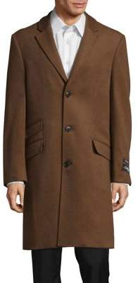 Hart Schaffner Marx Vicuna Shelby Wool & Cashmere Coat