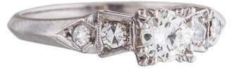 Ring Platinum Diamond Engagement