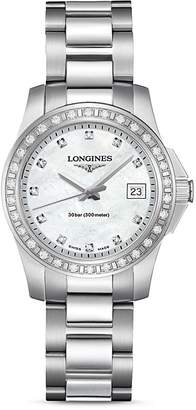 Longines Conquest Watch, 29.5mm $2,450 thestylecure.com