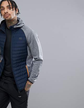 Jack and Jones Tech Multi Quilt Jacket