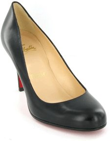 Christian Louboutin Round Leather Pump