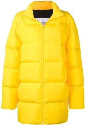 Calvin Klein Jeans Est. 1978 logo print puffer coat