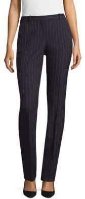 BOSS Pinstripe Straight-Leg Trousers