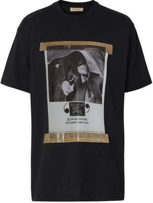 Burberry Archive Campaign Print Cotton T-shirt